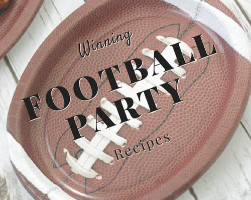 Winning Football Party Recipes